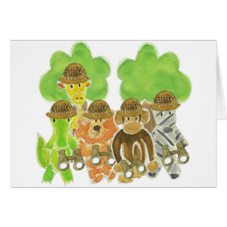 Critter Explorers Greeting Card