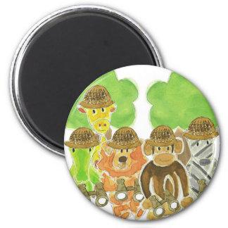 Critter Explorers Fridge Magnet