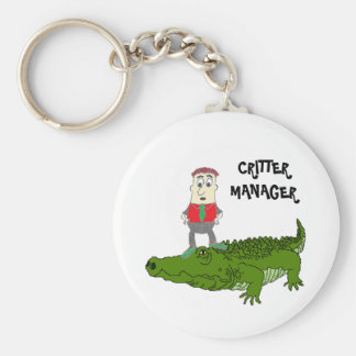 CRITTER MANAGER Keychain
