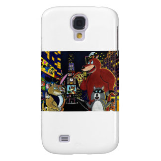 Critters in Times Square Samsung Galaxy S4 Covers