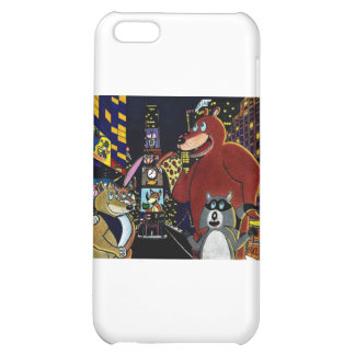 Critters in Times Square iPhone 5C Cases