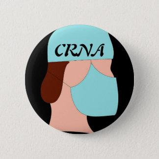 CRNA 6 CM ROUND BADGE