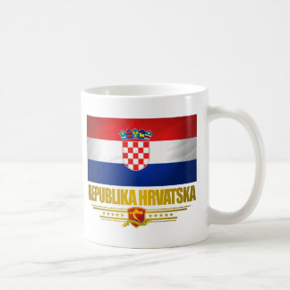 Croat Pride Basic White Mug