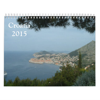 Croatia 2015 wall calendar