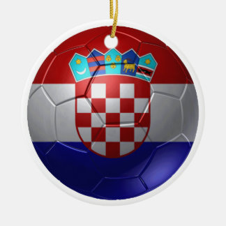 Croatia ball christmas ornament