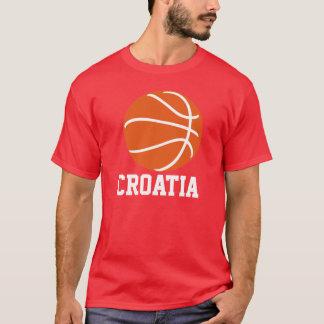 Croatia Basketball T-Shirt