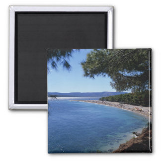 Croatia, Brac Island, Bol, Golden Cape Beach 2 Magnet