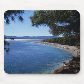 Croatia, Brac Island, Bol, Golden Cape Beach 2 Mouse Mat