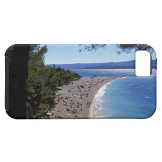 Croatia, Brac Island, Bol, Golden Cape Beach iPhone 5 Case