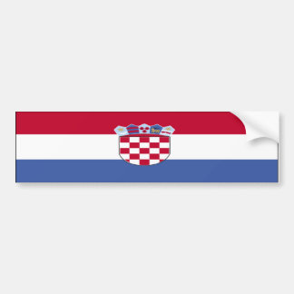 Croatia Bumper Sticker