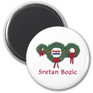 Croatia Christmas 2 Magnet