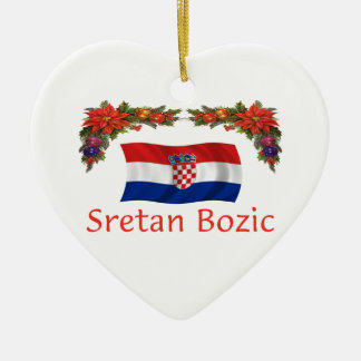 Croatia Christmas Christmas Ornament