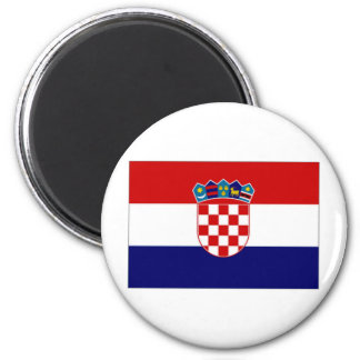Croatia Civil Ensign Magnet