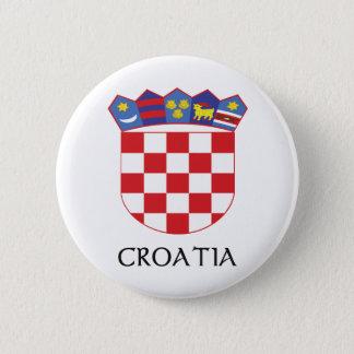 Croatia Coat of Arms 6 Cm Round Badge