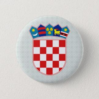 Croatia Coat of Arms detail 6 Cm Round Badge