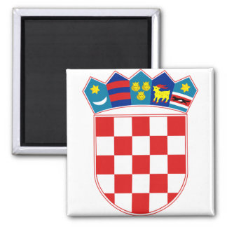 Croatia Coat of arms HR Hrvatska Magnet