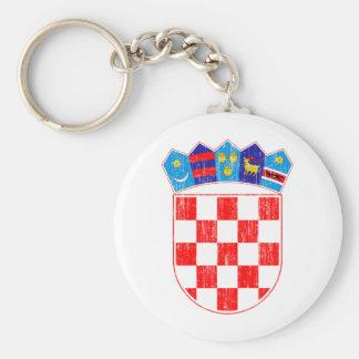 Croatia Coat Of Arms Key Ring