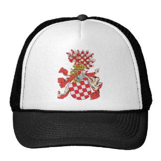 Croatia Coat of Arms Nineteenth Century Hat