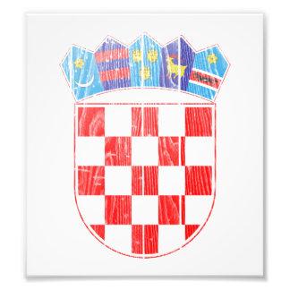 Croatia Coat Of Arms Photograph