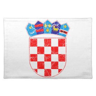 Croatia Coat Of Arms Placemat