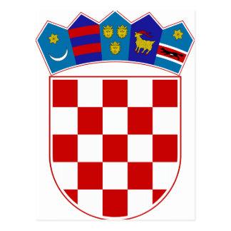 Croatia Coat of Arms Postcard