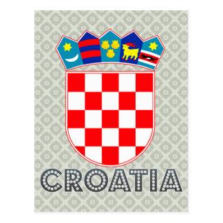Croatia Coat of Arms Post Card