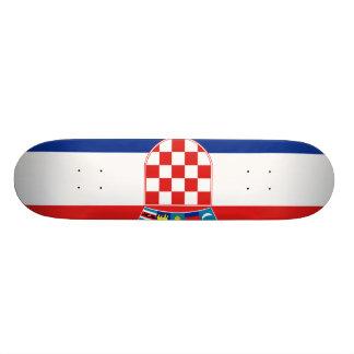 Croatia, Croatia 20.6 Cm Skateboard Deck