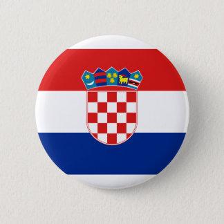 Croatia, Croatia 6 Cm Round Badge