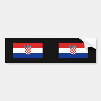 Croatia, Croatia Bumper Sticker