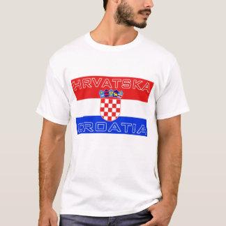 Croatia Croatian Hrvatska Flag T-Shirt