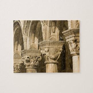 Croatia, Dalmatia, Dubrovnik. Stone arches and Jigsaw Puzzle