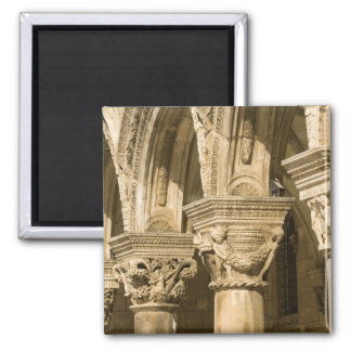 Croatia, Dalmatia, Dubrovnik. Stone arches and Magnet
