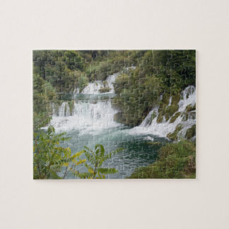 Croatia, Dalmatia, Krka Falls National Park Jigsaw Puzzle