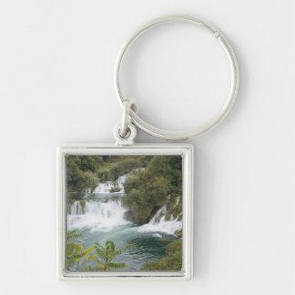Croatia, Dalmatia, Krka Falls National Park Key Ring
