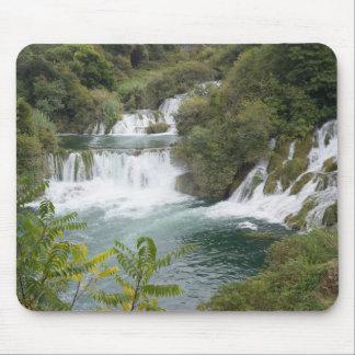 Croatia, Dalmatia, Krka Falls National Park Mouse Mat