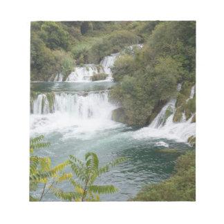Croatia, Dalmatia, Krka Falls National Park Notepad