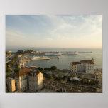 Croatia, Dalmatia, Split. View of Riva Poster