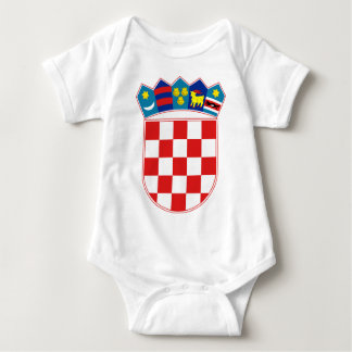 croatia emblem baby bodysuit