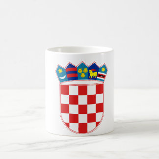 croatia emblem basic white mug