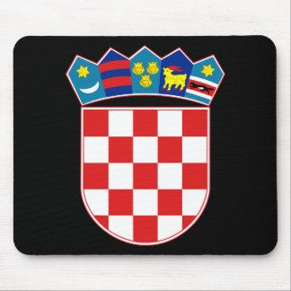 croatia emblem mouse mat