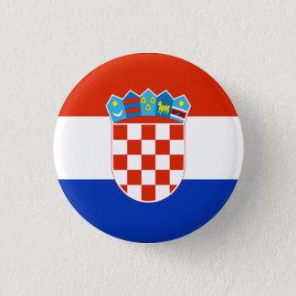 Croatia Flag 3 Cm Round Badge