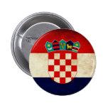 Croatia Flag 6 Cm Round Badge