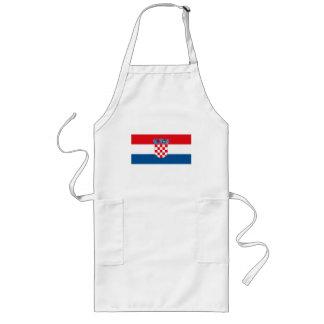 Croatia Flag Apron
