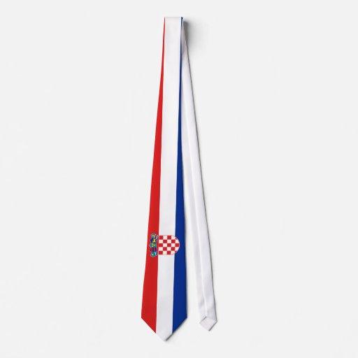 Croatia Flag Custom Ties