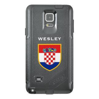 Croatia Flag Customized OtterBox Samsung Note 4 Case