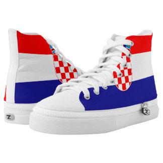 Croatia Flag High Top Shoes