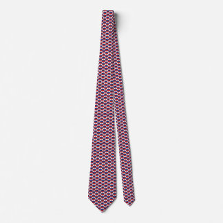 Croatia Flag Honeycomb Tie