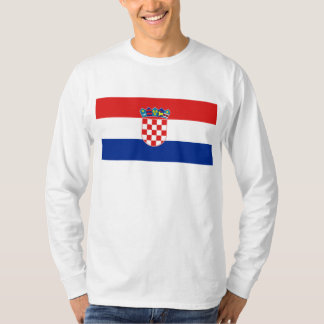 Croatia Flag HR Hrvatska T-Shirt