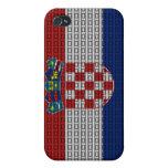 Croatia Flag iPhone 4/4S Cases