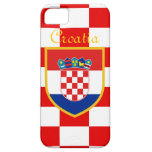 Croatia Flag iPhone 5 Case
